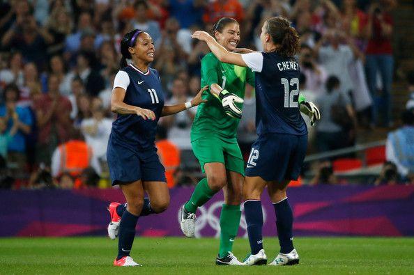 Hope Solo Photos - Olympics Day 13 - Women's Football Final - Match 26 - USA v Japan - Zimbio