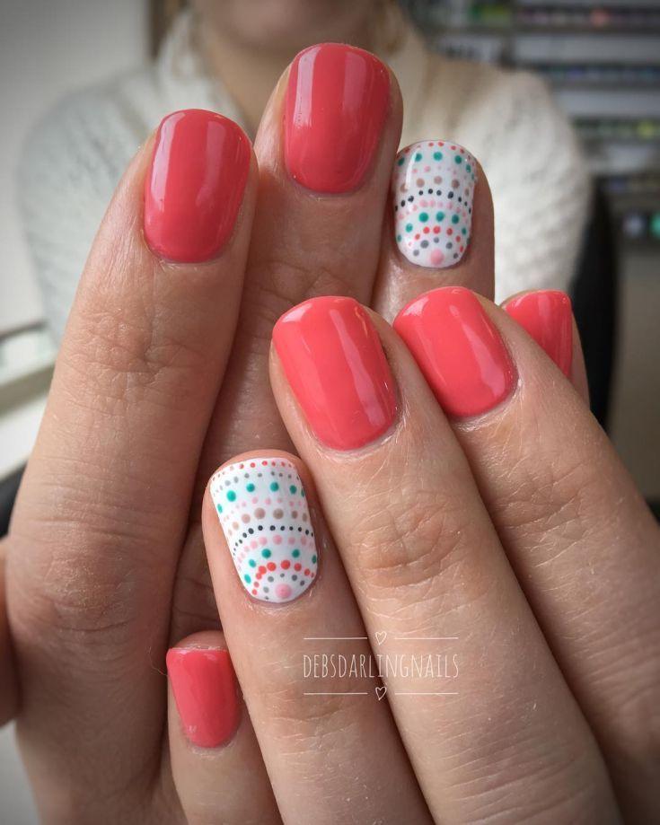 80+ Einfache Nail Art mit dem Dotting Tool (2018 – Nägel