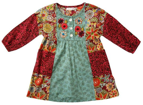 Bunnies Picnic - Mimi & Maggie After the Harvest Dress for Toddlers - Boutique Clothing for Girls and Boys