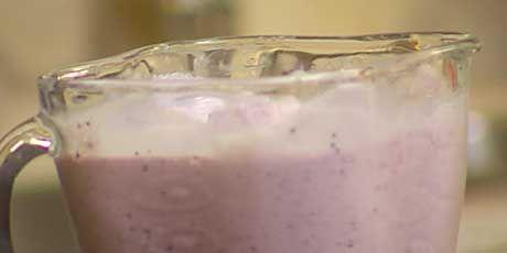 Blueberry Milkshake Recipes .......chef at home ......SEASON...6 ...... Epi....Easy Fish......  10475 ..... Food Network Canada