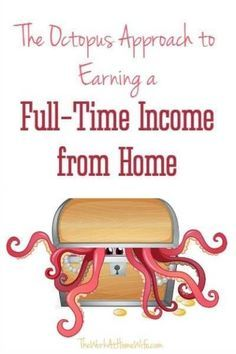 Learn how you can work from home and get paid through multiple income streams