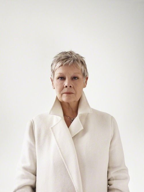 'Judi Dench' (2008) by photographer Bryan Adams. C-type colour print, 20.5 x 15.375 in. via National Portrait Gallery
