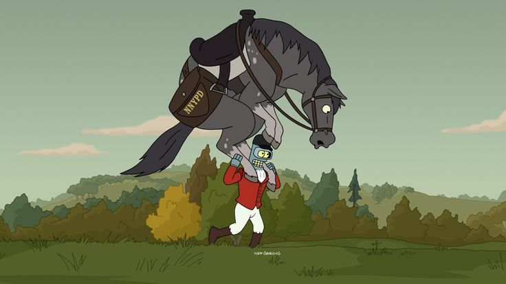 Horse-Thief Bender | #Futurama Season 7a Finale