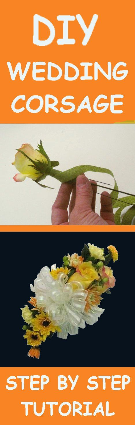 How To Make Wedding Bouquets And Corsages : Best wedding corsages ideas on wrist