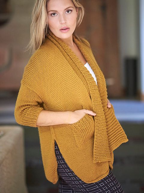 Overlap Ribbed Knitted Sweater Beige   na-kd.com