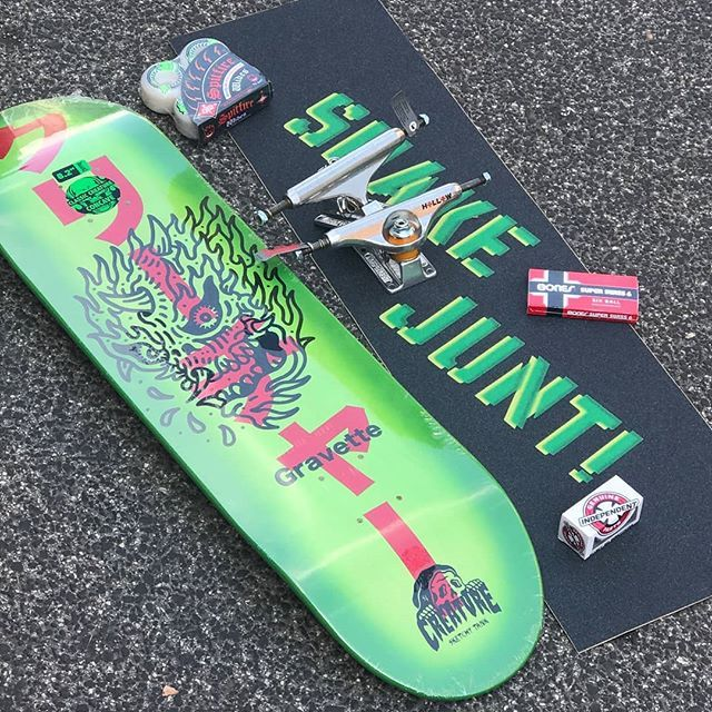 Skate Setup Eat Green Eat Fresh Ultime Novita In Negozio E Online Su Www Kahunashop It Kahunashop Creature Sket Skateboard Skate Cute Disney Wallpaper
