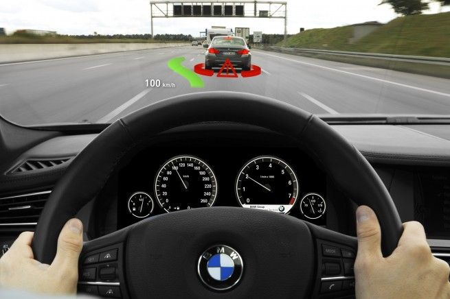 Head-Up Display 2.0 - Augmented Reality - BMW BLOG