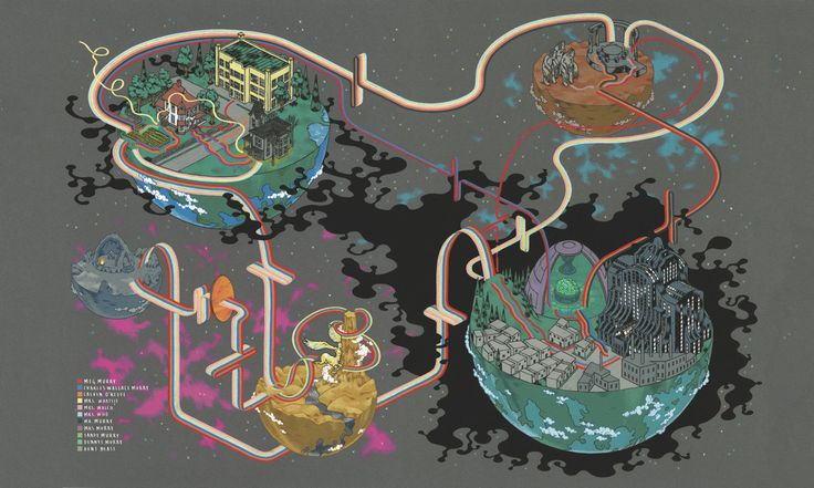 A Wrinkle in Time mapped | Atlas Obscura