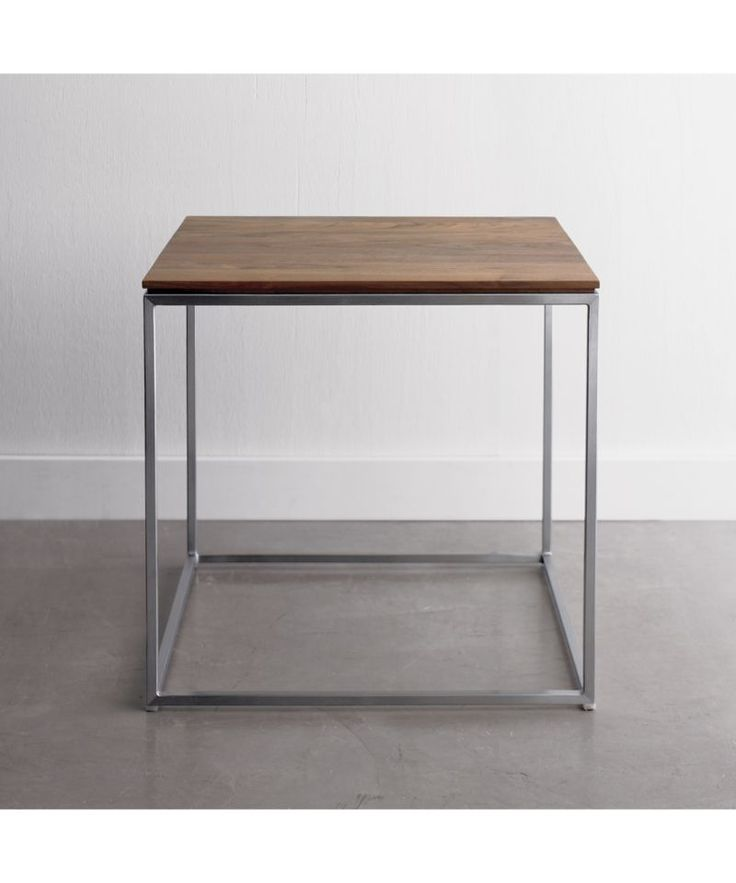 Frame Square Side Table   Crate And Barrel