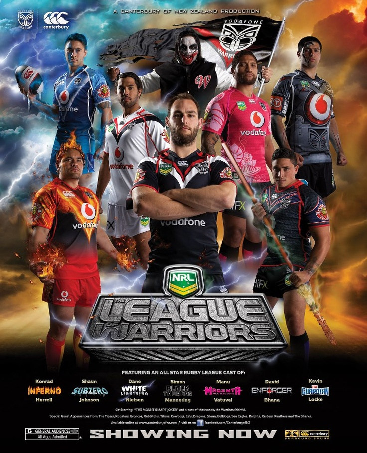 2013 NZ Warriors...