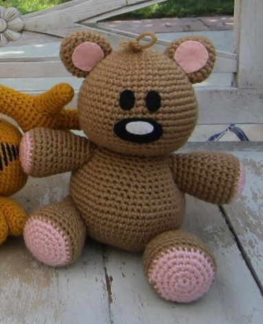 Amigurumi Free Patterns Garfield : 25+ best ideas about Crochet stuffed animals on Pinterest ...