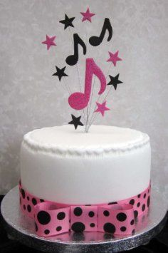 Wicked Musical Cake Topper