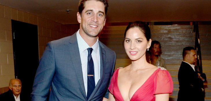 Packers QB Aaron Rodgers is reportedly dating actress Olivia Munn