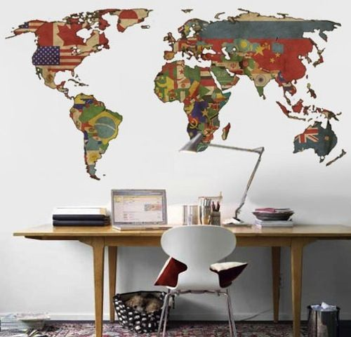 best 20 map decorations ideas on pinterest vintage map decor vintage maps and travel decorations - World Map Decor