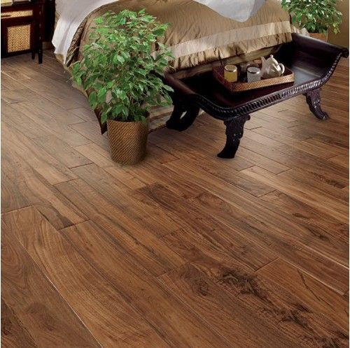 """5"""" Engineered Hand Scraped Cezanne Acacia Wood Floor. 1/2""""thickness. 2mm wear layer. call for price. hardwoodbargains.com. 25 year finish warranty."""