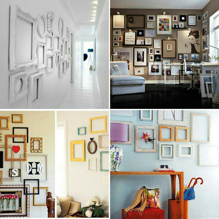 Даже пустые рамки для фотографий могут стать отличным дополнением вашего интерьера. 👍  www.aqua-show.com.ua  www.ceh.od.ua