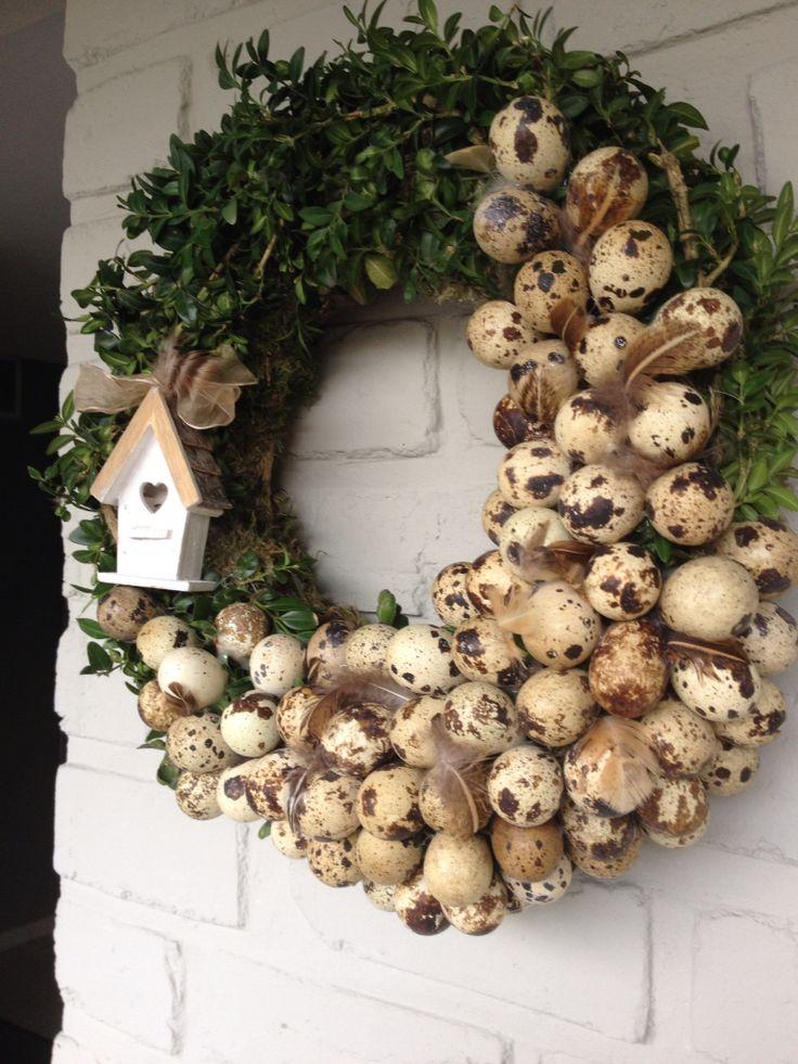 Spring/Easter wreath-Paaskrans.