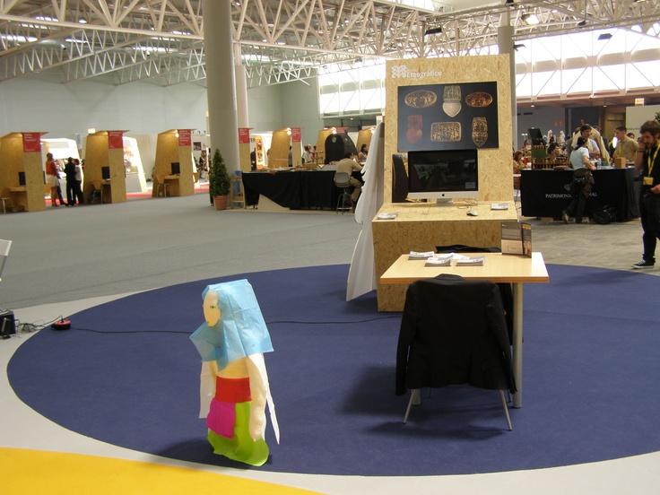 El Museo Etnográfico de Castilla y León también acudió con un stand