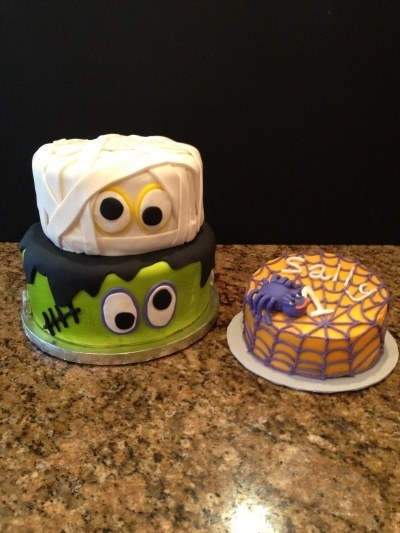 Halloween first birthday By cakesbykaty on CakeCentral.com