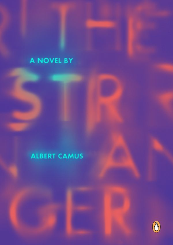 "I think this is a great piece of design because of the way the text in the image tells the story. The way that the word ""Stranger"" is portrayed makes the viewer feel almost uneasy because of how it appears shaky and blurred."