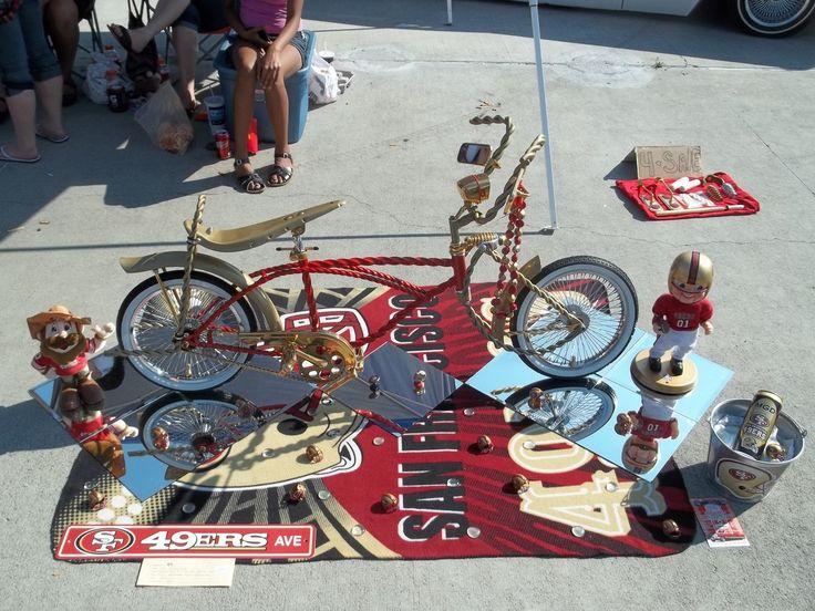 49ers Lowrider Bike