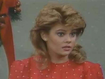"Lisa Whelchel as Blair Warner, ""The Facts Of Life"""