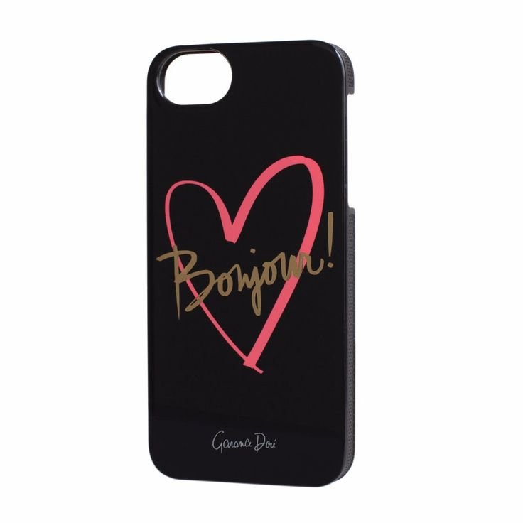 Garance Dore Bonjour iPhone 5/5S cases now in the sale at Northlight Homestore