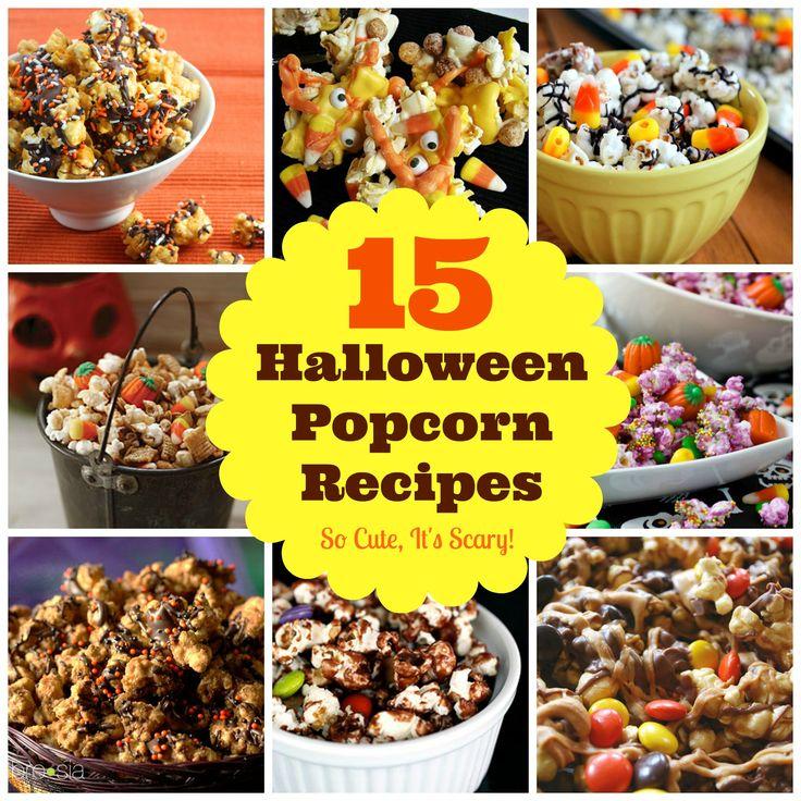15 Halloween Popcorn Recipes: Snack Mixes So Delicious, It ...