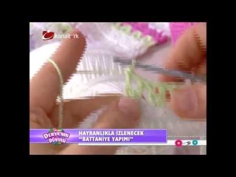 Derya Baykal - Battaniye yapımı - YouTube