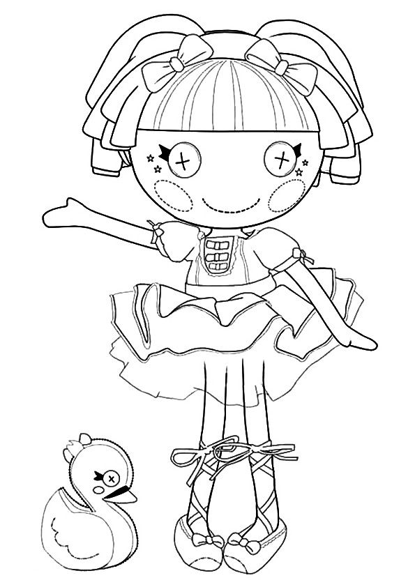 14 best Color: Lalaloopsy images on Pinterest | Coloring books ...