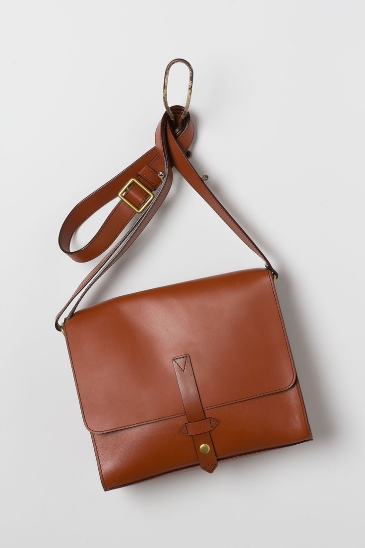 simple + perfect. love this $158 messenger bag from @Anthropologie
