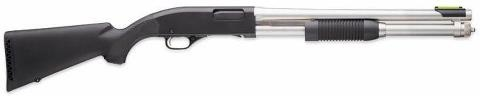 """The Winchester 1300 Shotgun"" was first introduced in around 1981, when the US Repeating Arms Company (USRAC) took over production of the 'Winchester' brand guns from the Olin / Winchester corporation. In fact, the model 1300 was a slightly modified version of the previous Winchester model 1200 shotgun, which was manufactured by Olin /Winchester between 1964 and 1980."