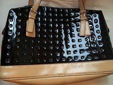 Arcadia BAG Black Patent Beige | eBay