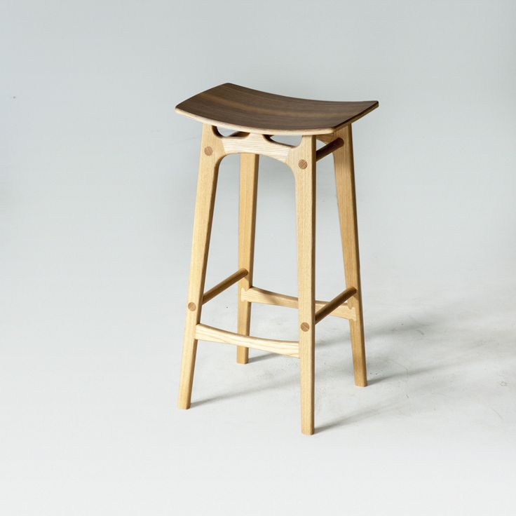 Due to its originality this stool and barhockers really stands out compared to mass-produced works. Being hand-made and based on the tradition of design makes it an exceptional item. #woodwork #craftsmanship #interiordesign #workshop #Handmade