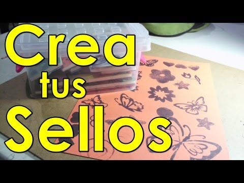 Crea tus sellos personalizados ❤ - YouTube