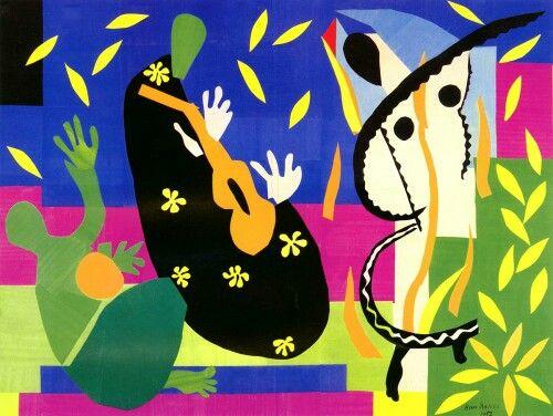 Henri Matisse - Sorrow of the King