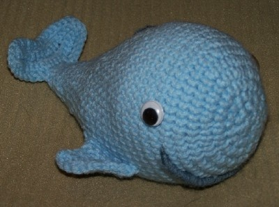 Blue Whale with rattleYarns Crafts, Crochet Stuff, Crochet Toys, Crochet Animal, Awesome Amigurumi, Crochet Pattern, Blue Whales