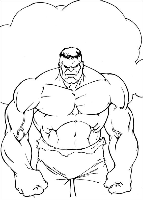 18 Best Images About Hulk Disegni Da Colorare On