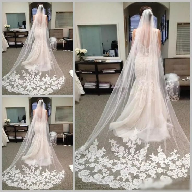 Bridal Veil Appliques