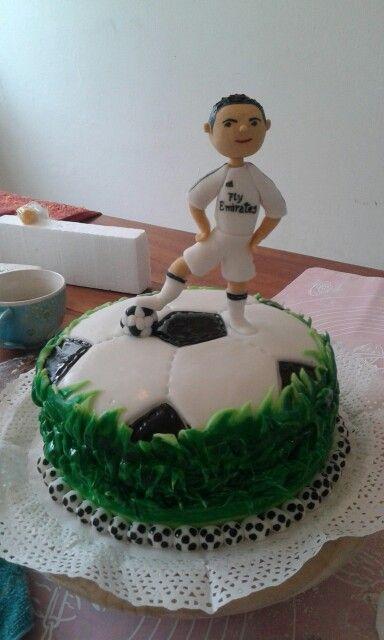Torta de futbol