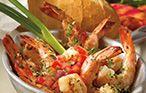 Bahama Breeze Recipes.  Fire Roasted Jerk Shrimp