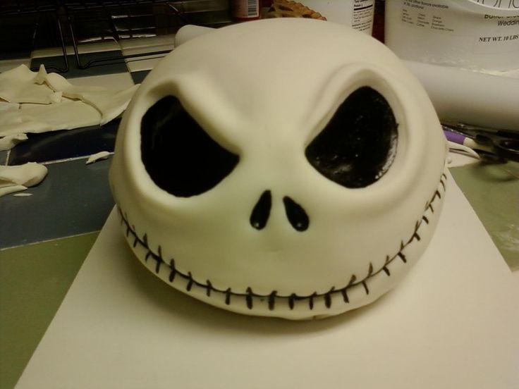 jack skellington cake | Jack Skellington — 2010 Spooky Cakes Contest