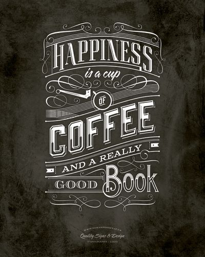 betype: Cofee Typography. - Good typography