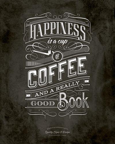betype: Cofee Typography. - Good typography