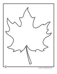 leaf cutouts template - Google Search