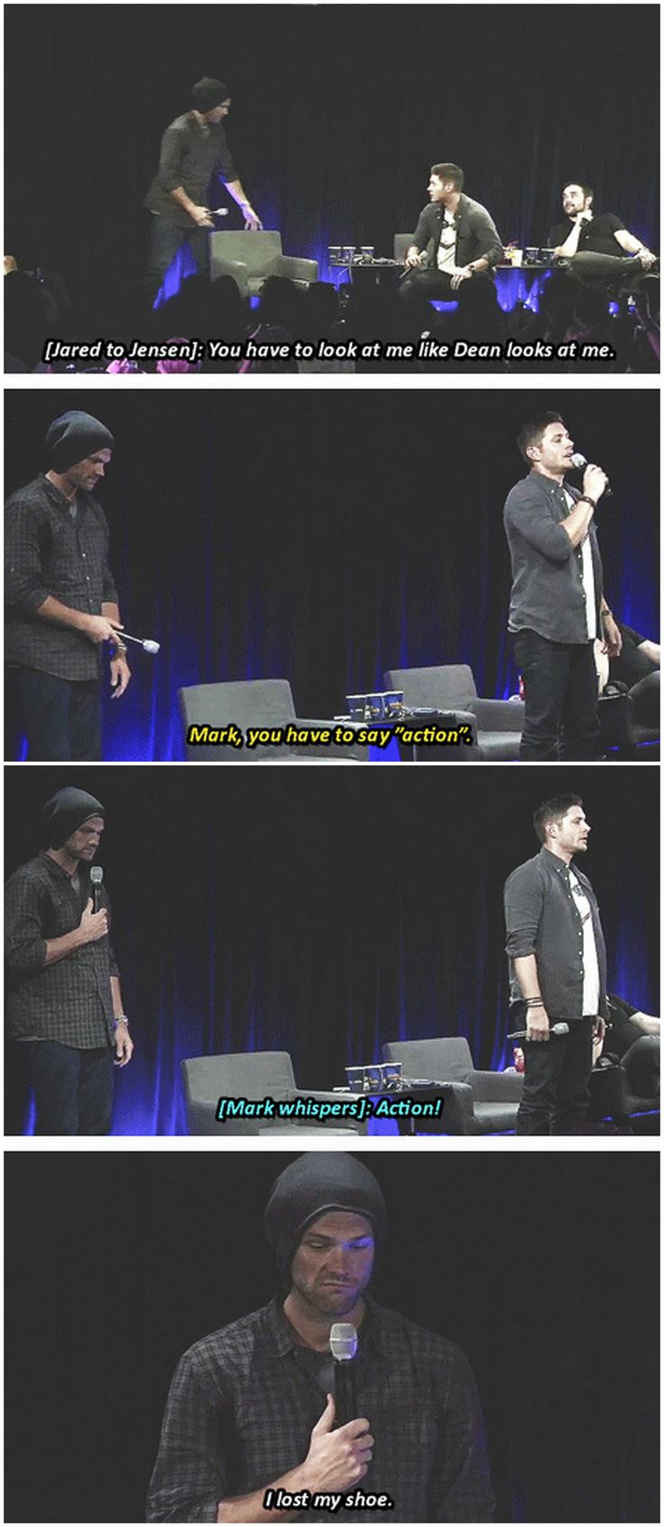 25+ Best Ideas About Supernatural Bloopers On Pinterest  Supernatural  Funny, Supernatural And Supernatural Funny Quotes