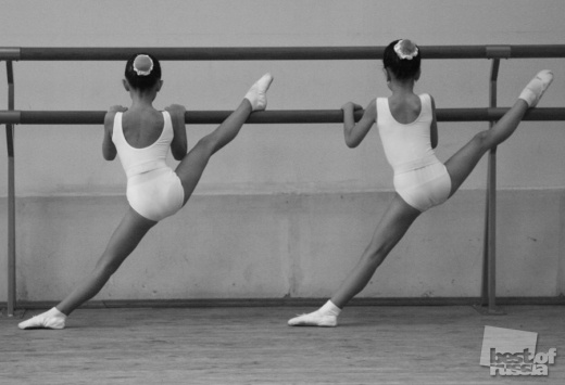 Ballet exercise • by Pauline Kontsereva