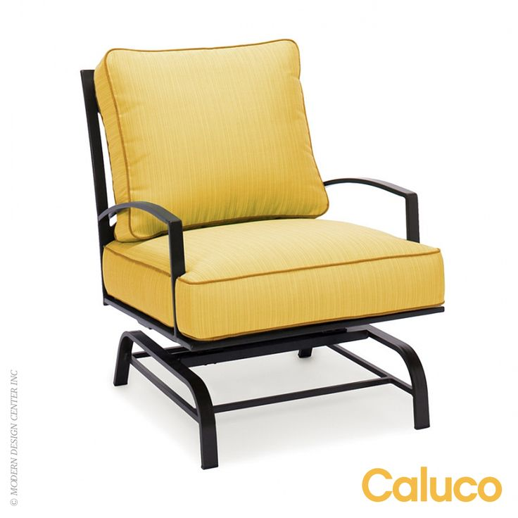 San Michelle #rockerclubchair by Caluco is a classic collection serving comfortable, sumptuous style in any setting, from palatial terraces to intimate verandas. #rockingchairs Available at allmodernoutlet.com