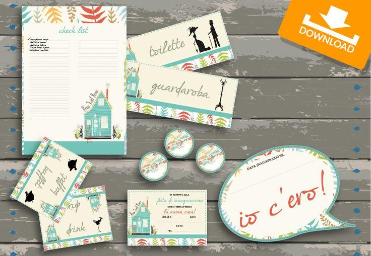 #Kit #scaricabili #gratis: Betulla | Festeggiamo Insieme la tua #casanuova con i materiali per la #festa di #inaugurazione!