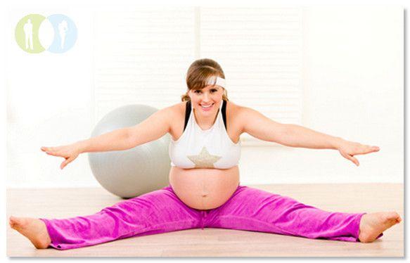 Беременность упражнения третий триместр